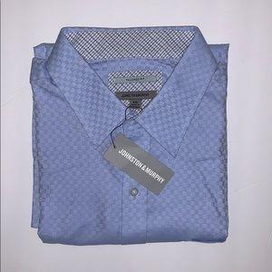 🆕 Johnston & Murphy • Light Blue Shirt